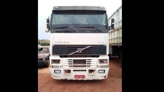 Caminhão em Guaíra