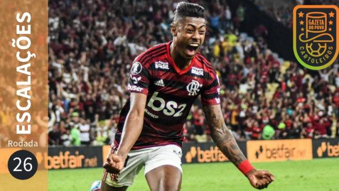 Confira escalações suspensos e lesionados da 26ª rodada do Brasileirão