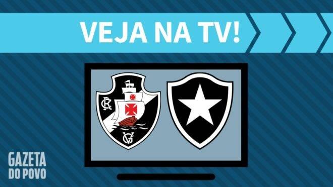 Vasco x Botaofogo: Saiba onde assistir na TV ao vivo