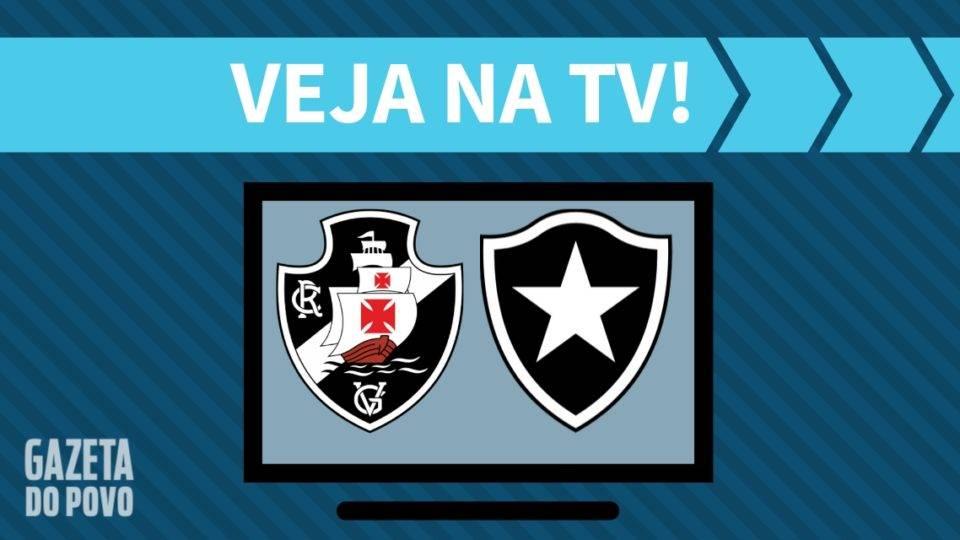 Vasco x Botafogo AO VIVO: saiba como assistir ao jogo na TV