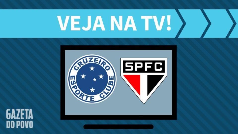 Cruzeiro x São Paulo AO VIVO: saiba como assistir ao jogo na TV