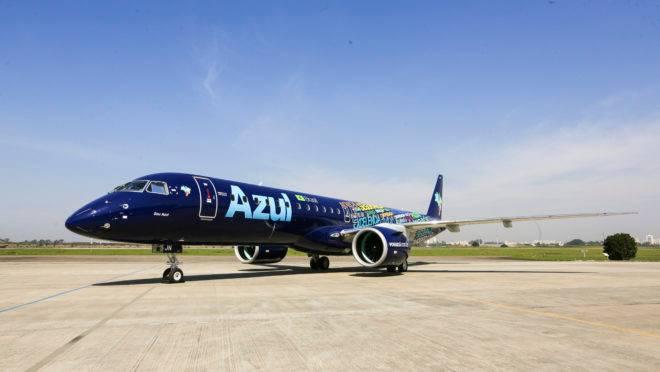 Embraer 195 E2 da Azul