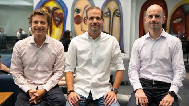 Cofundadores do Ebanx