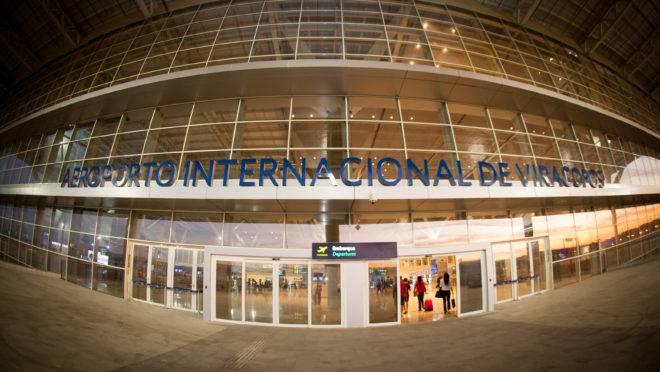 Aeroporto de Viracopos, em Campinas