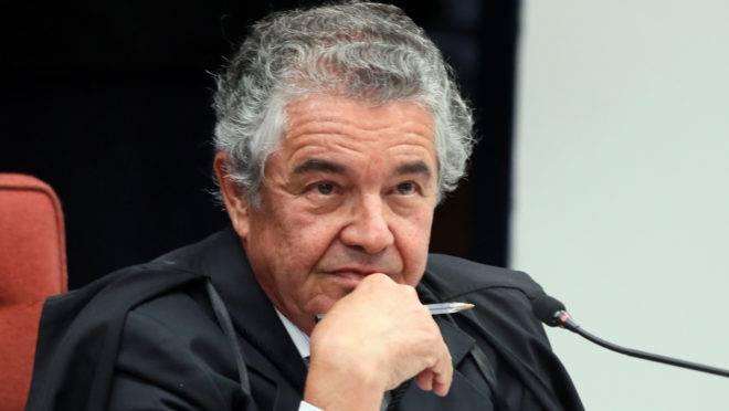 Ministro Marco Aurélio defendeu se ponto de vista como relator e criticou Toffoli