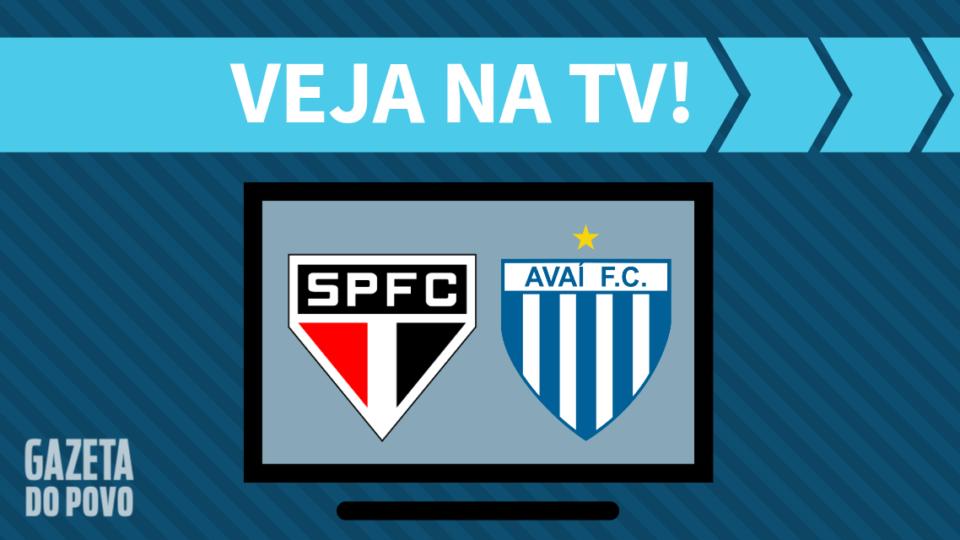 São Paulo x Avaí AO VIVO: como assistir ao jogo na TV
