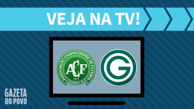 Chapecoense x Goiás: veja na TV