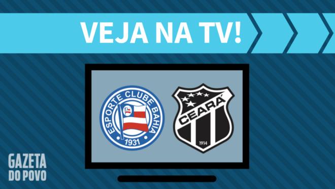 Bahia x Ceará: veja na TV