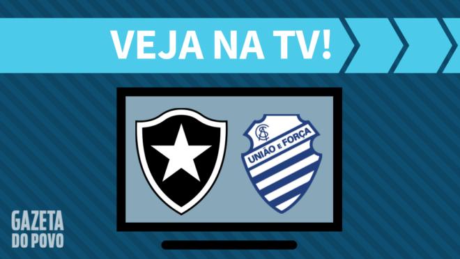 Botafogo x CSA: veja na TV
