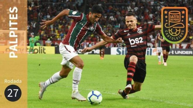 Veja os palpites para os jogos da 27ª rodada do Brasileirão