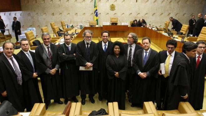 Advogados que atuaram no julgamento desta quinta no STF: maioria é contra a prisão em segunda instância.