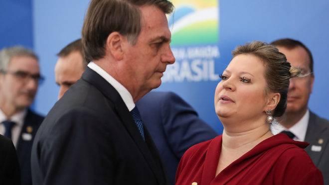 Joice hasselmann deixou de ser líder do governo no Congresso