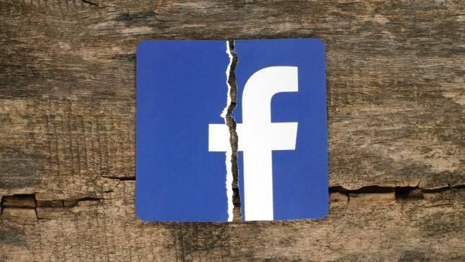A rede social perde valor desde 2018