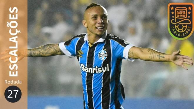 Confira escalações suspensos e lesionados da 27ª rodada do Brasileirão