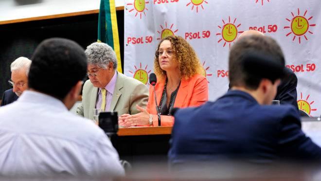 Luciana Genro foi fundadora do PSOL. Chico Alencar e Ivan Valente entraram no partido em 2005