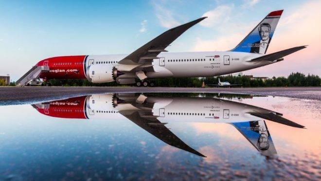 Boeing 787 da Norwegian