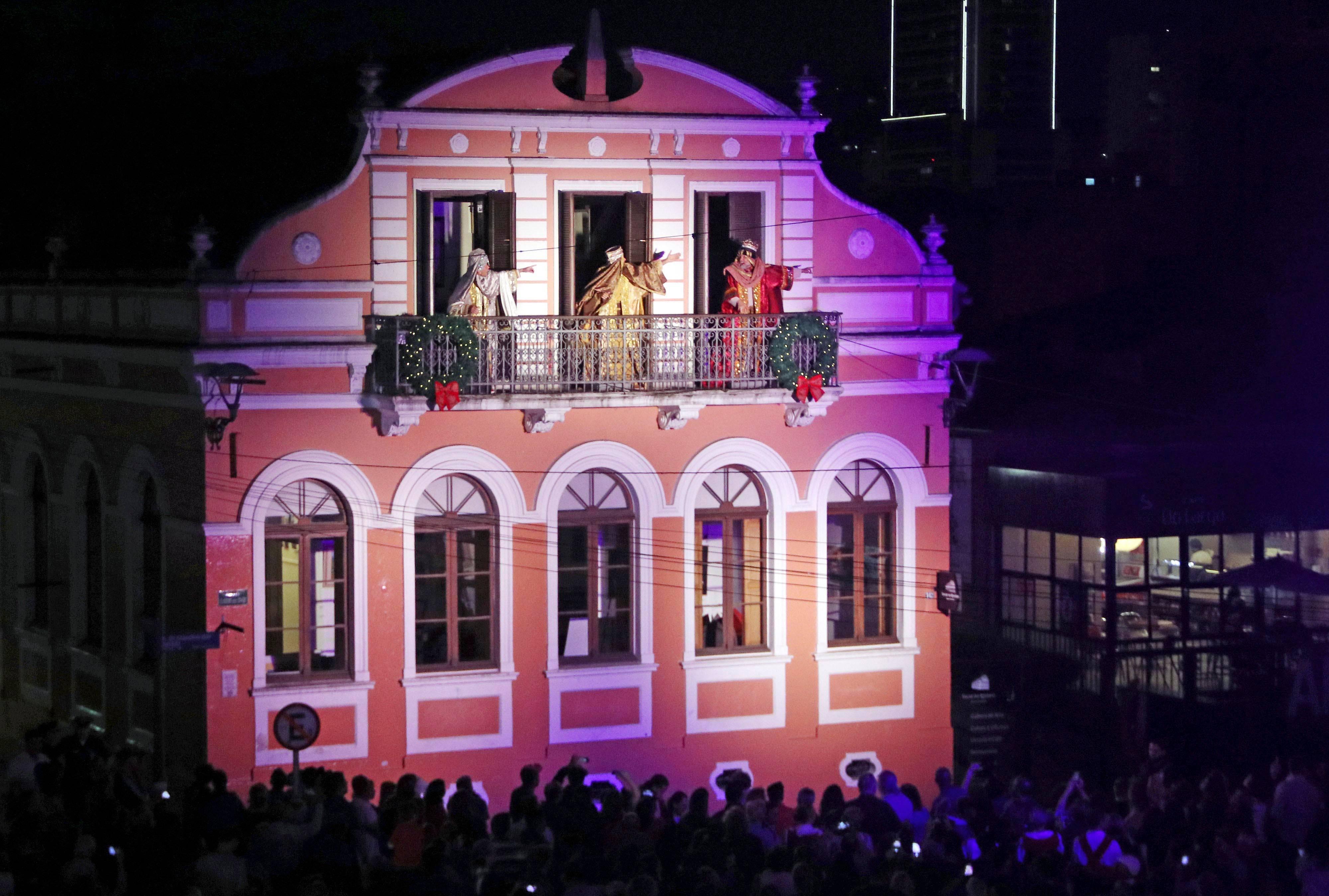As encenações são realizadas em diferentes pontos do Centro Histórico. Foto: Lucilia Guimarães/Prefeitura de Curitiba