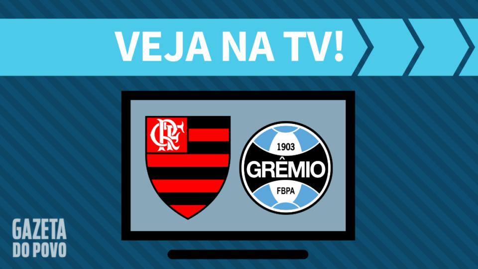 Flamengo x Grêmio AO VIVO: saiba como assistir ao jogo na TV