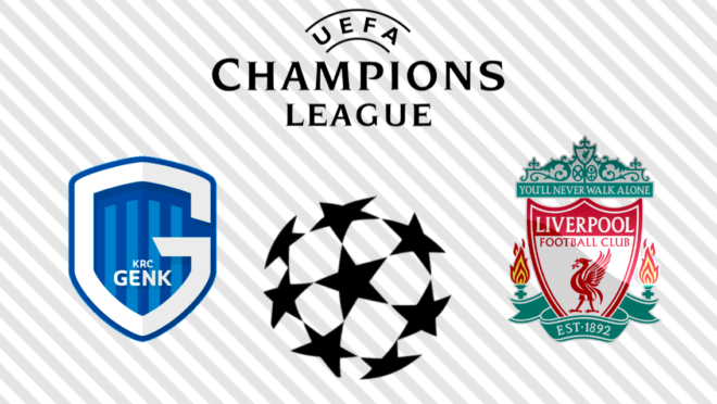 Genk x Liverpool: veja na TV