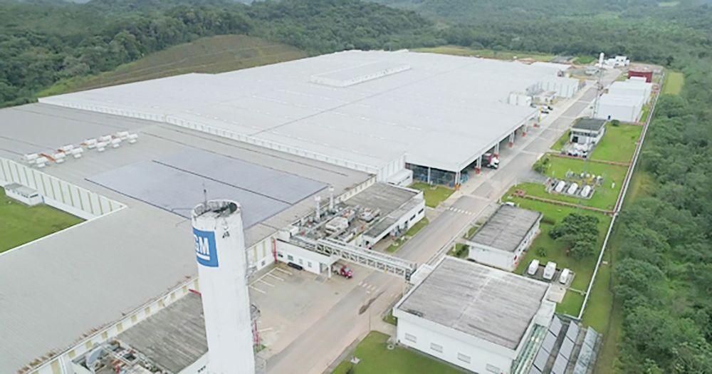 A fábrica em Joinville aumentou quatro vezes o seu tamanho para receber a nova linha de motores. Foto: GM/ Divulgação