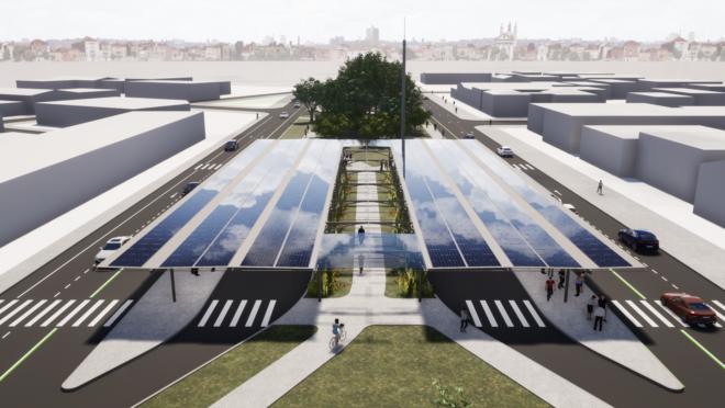 Com ampliação do Inter 2, projeto é transformar estação-tubo Santa Quitéria em miniterminal