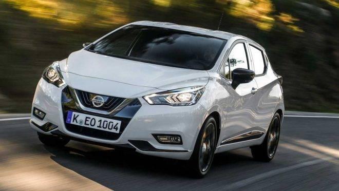 Foto: Nissan March, chamado de Micra na Europa, ficou maior e premium com a nova geração. Foto: Nissan/ Divulgação
