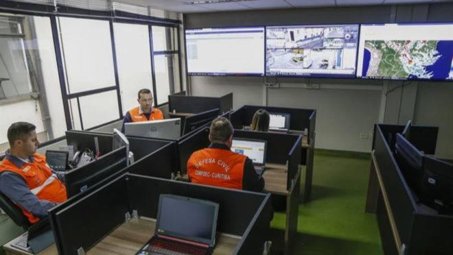 Centro de Gerenciamento de Riscos foi inaugurado nesta última segunda-feira (21), em Curitiba.