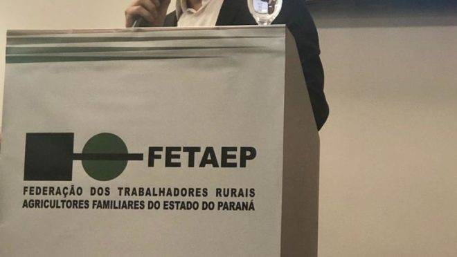 Marcos Brambilla, presidente da Fetaep
