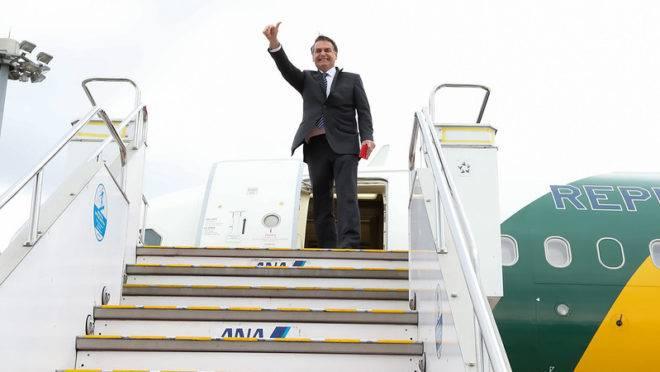 Bolsonaro resolveu antecipar o retorno à Brasília