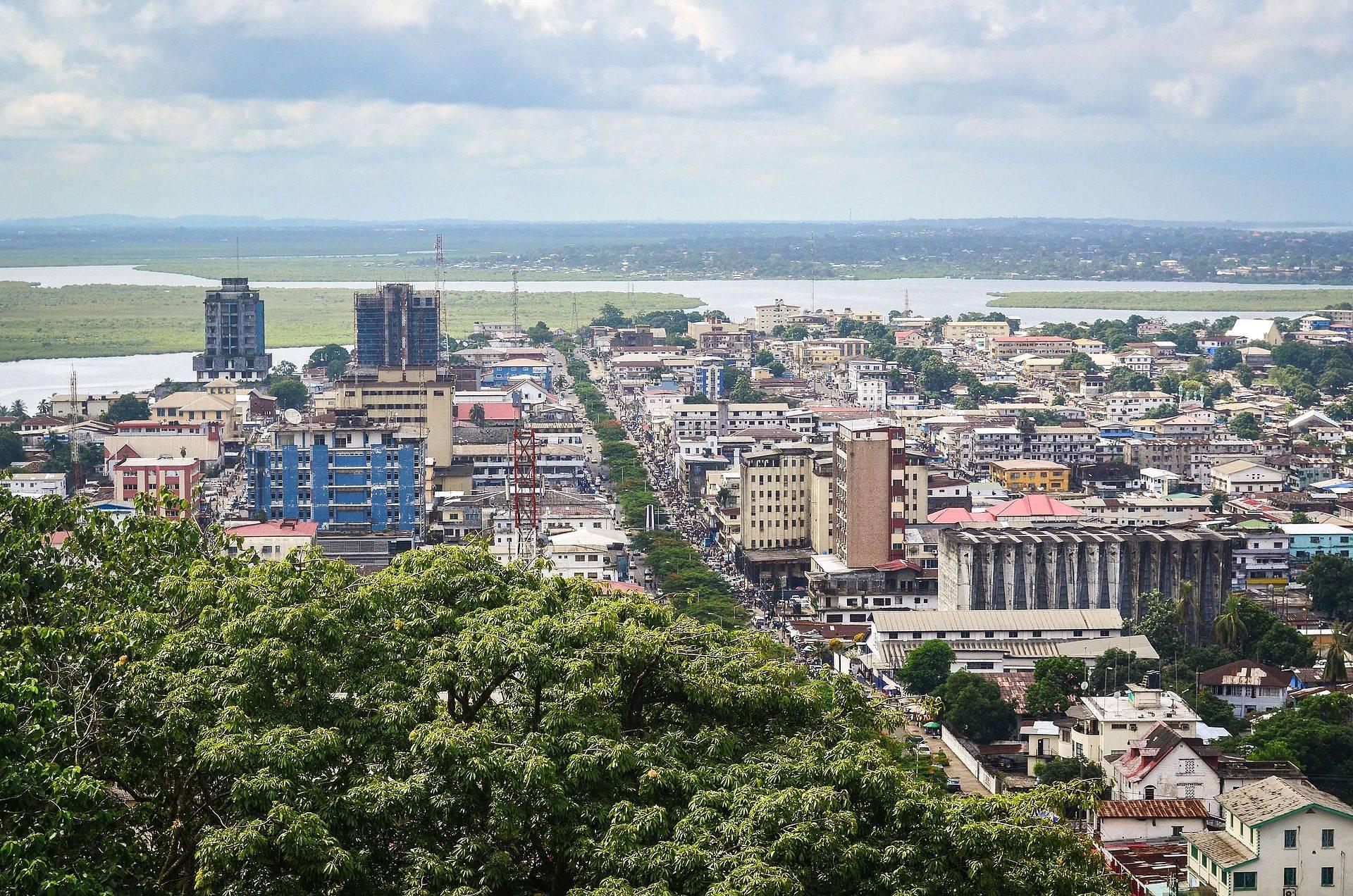 Monróvia, capital da Libéria. Foto: Wikimedia Commons.