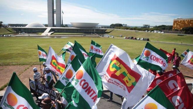 Unicidade sindical: centrais
