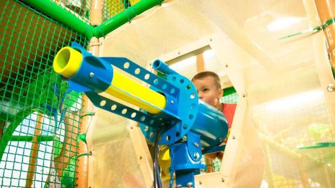 Hasbro é detentora de marcas como a Nerf, de armas de brinquedo