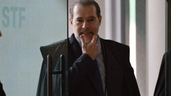 Presidente do STF, ministro Dias Toffoli,