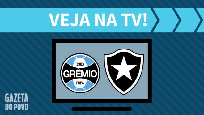 Grêmio x Botafogo: veja na TV