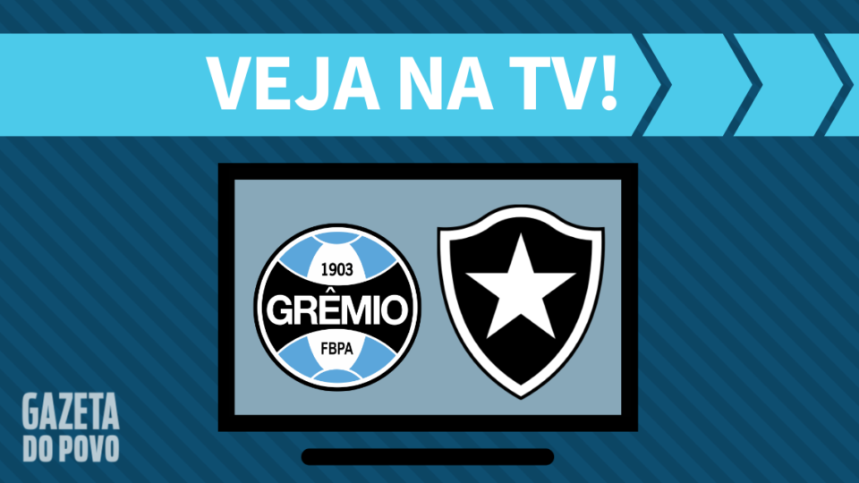Grêmio x Botafogo AO VIVO: como assistir ao jogo na TV
