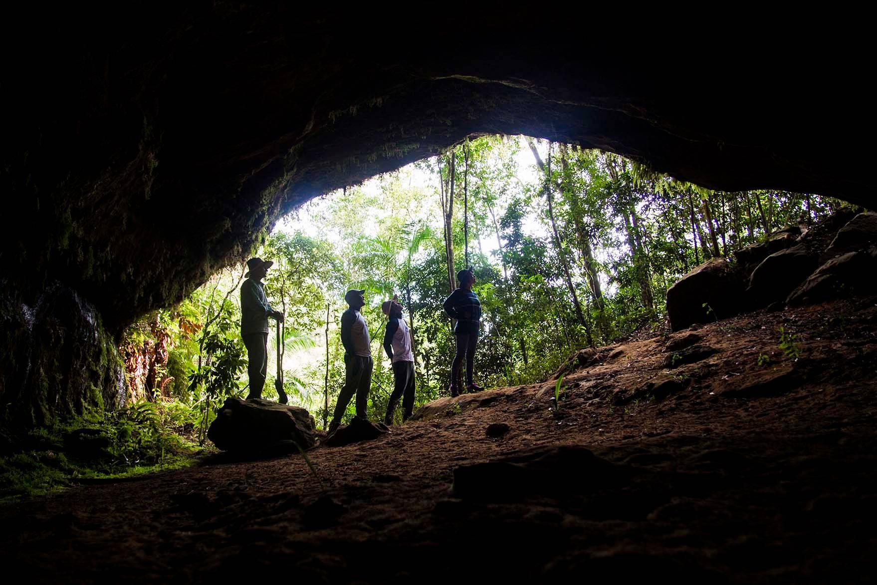 A Caverna do Tigre, uma das belas atrações da região. Foto: Gralha Azul Turismo e Aventura/Divulgação