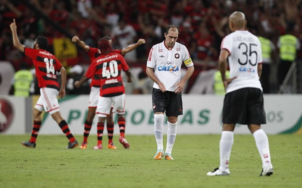 Flamengo e Athletico decidiram a Copa do Brasil 2013. Foto: Jonathan Campos/Gazeta do Povo