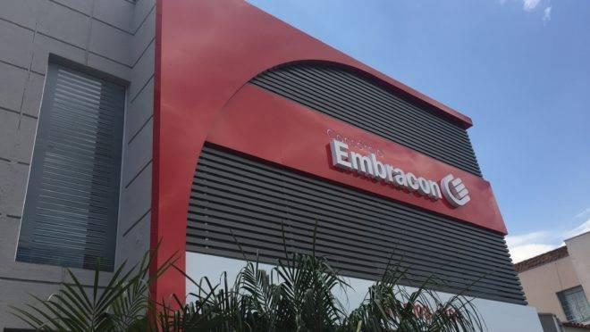 Fachada da empresa Empracon-PR