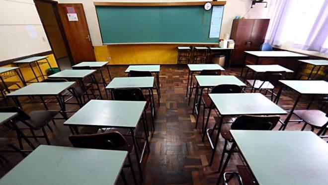Sala de aula: mandato de diretores de escolas poderá ser prorrogado.