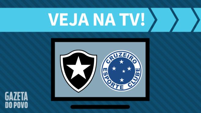 Botafogo x Cruzeiro: veja na TV