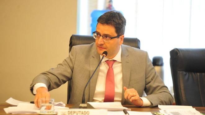 Deputado estadual Homero Marchese (Pros), durante reunião da CCJ