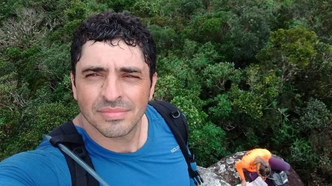 Montanhista Sandro Godoy, de 45 anos, foi encontrado morto na última segunda-feira (28), no Panamá.
