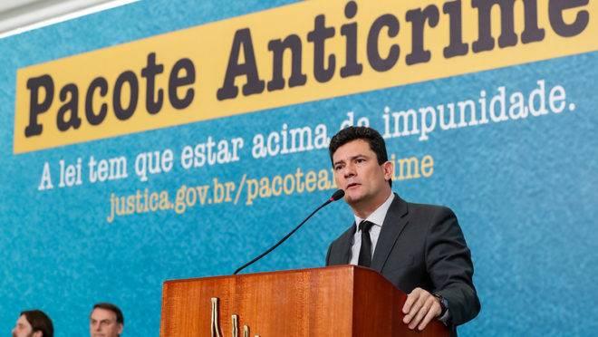 Ministro da Justiça Sergio Moro