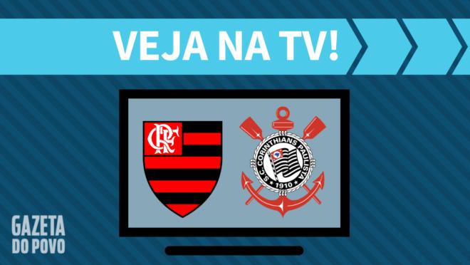 Flamengo x Corinthians: veja na TV