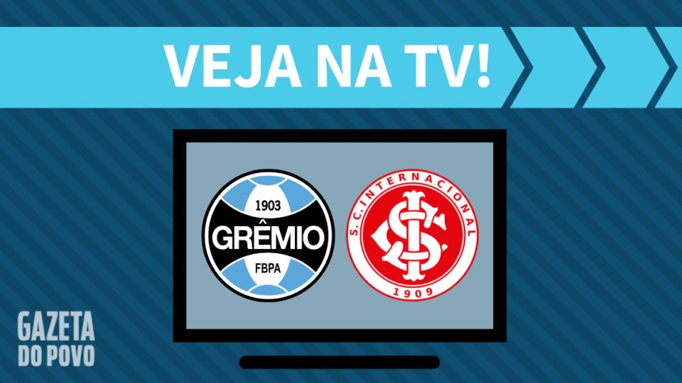 Grêmio x Internacional AO VIVO: como assistir ao jogo na TV