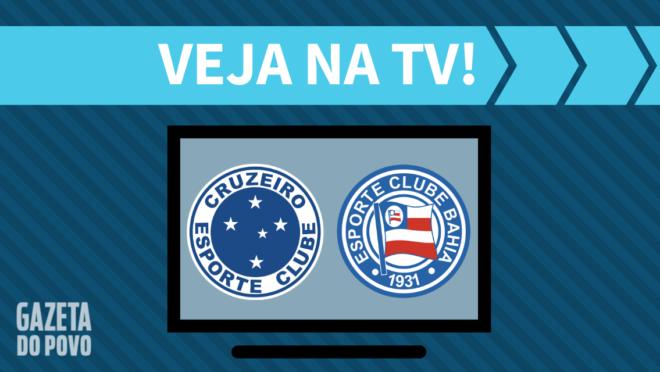 Cruzeiro x Bahia: veja na TV