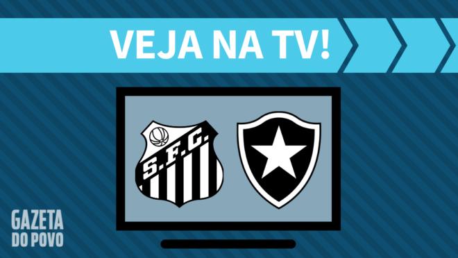 Santos x Botafogo: veja na TV
