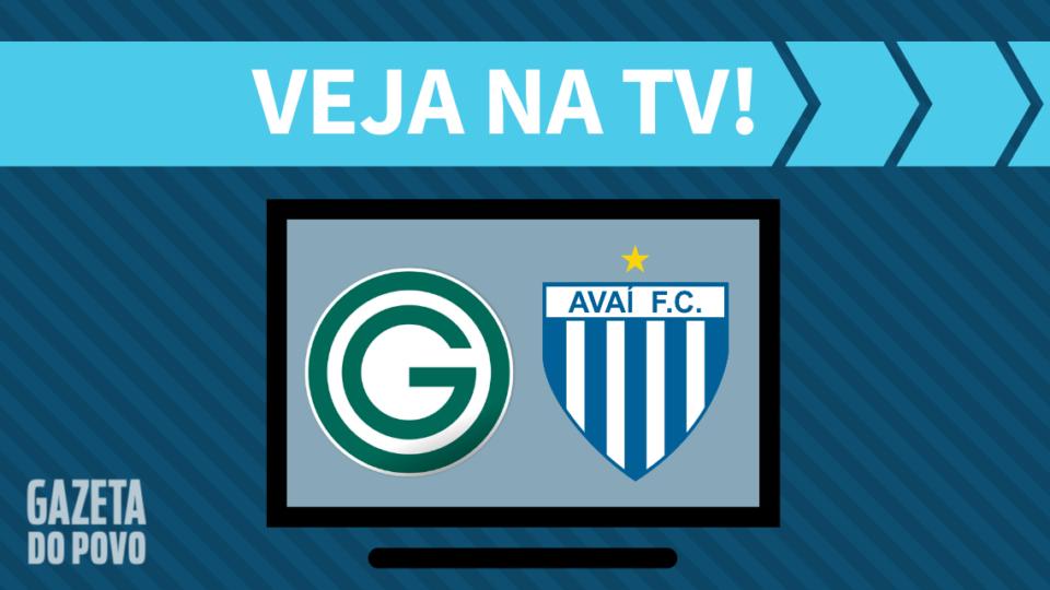 Goiás x Avaí AO VIVO: como assistir ao jogo na TV