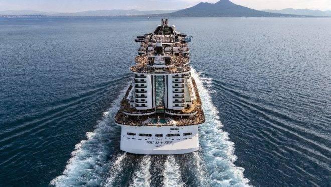 Está aberta a temporada de cruzeiros e o MSC Seaview é um dos luxuosos que vão atracar em Balneário Camboriú.