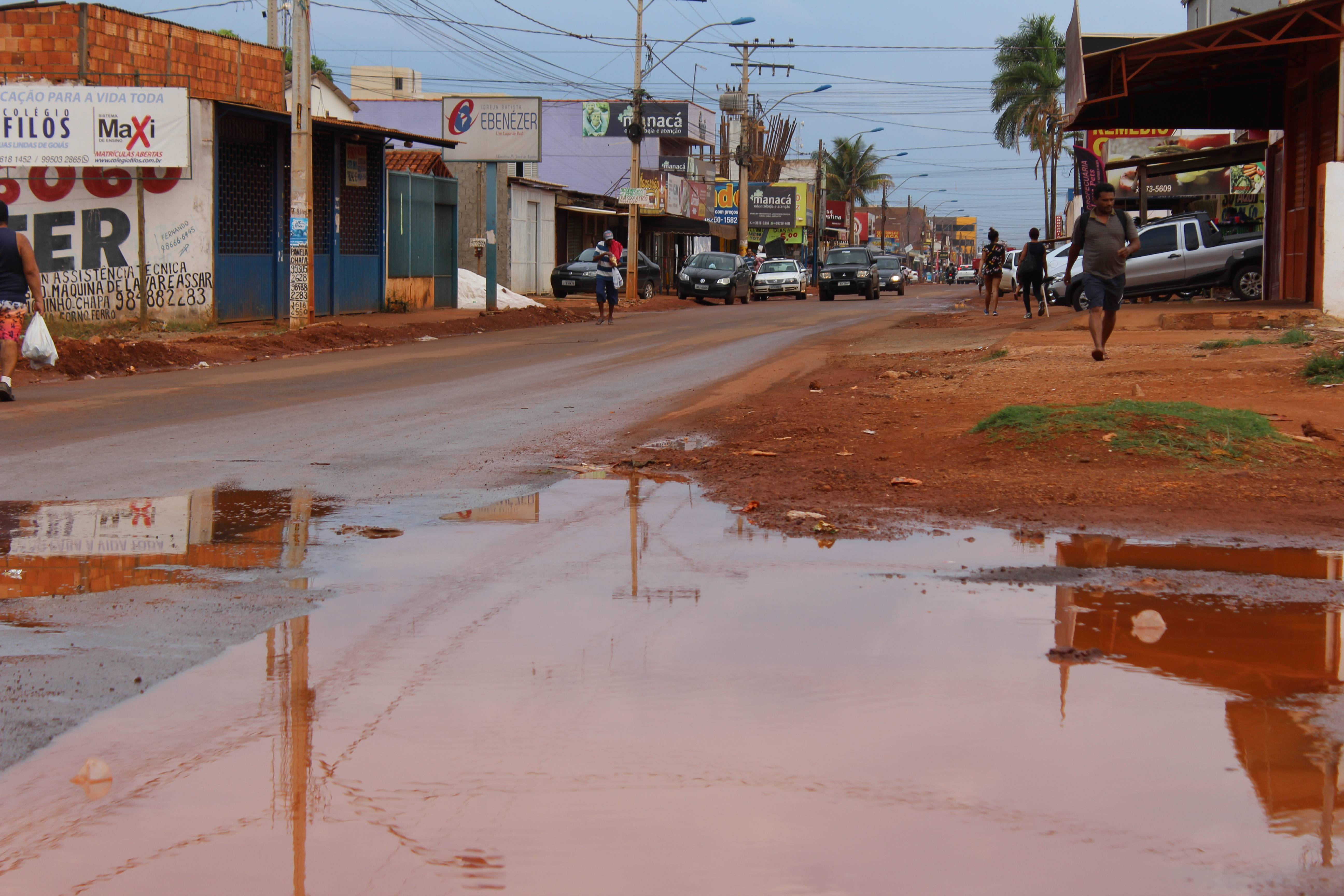 Águas Lindas de Goiás (GO) é uma das cidades mais violentas do entorno do Distrito Federal;.
